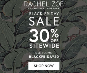 Rachel Zoe Holiday Promotions and Coupons are Here!