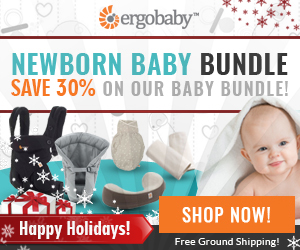 Save 30% with the Ergobaby Holiday Baby Bundles and Free Stuff!
