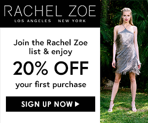 New Banners for RachelZoe.com are Here
