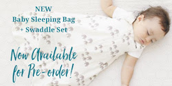 Winter Snuggles – NEW Baby Sleeping Bag & Swaddle Set