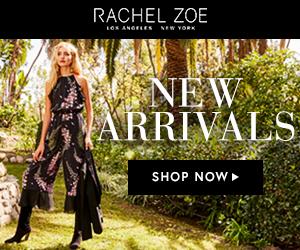 New Rachel Zoe Arrivals Banners!