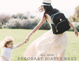 Ergobaby Introduces their New Diaper Bags Collection