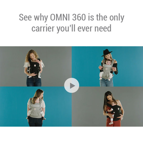 You're the first to know… New Ergobaby Omni 360 is here!