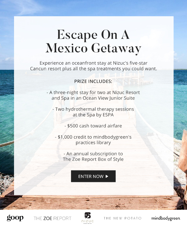 Win A Winter Escape To Cancun, Mexico