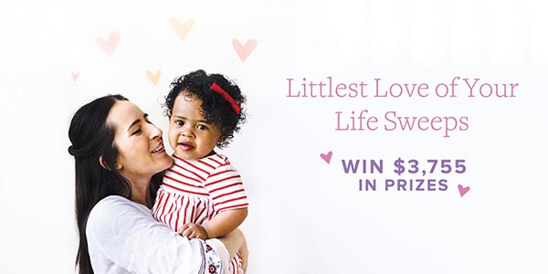 👶 Hurry, Ends Soon! Win almost $3,800 in Goodies for Your Littlest Love!